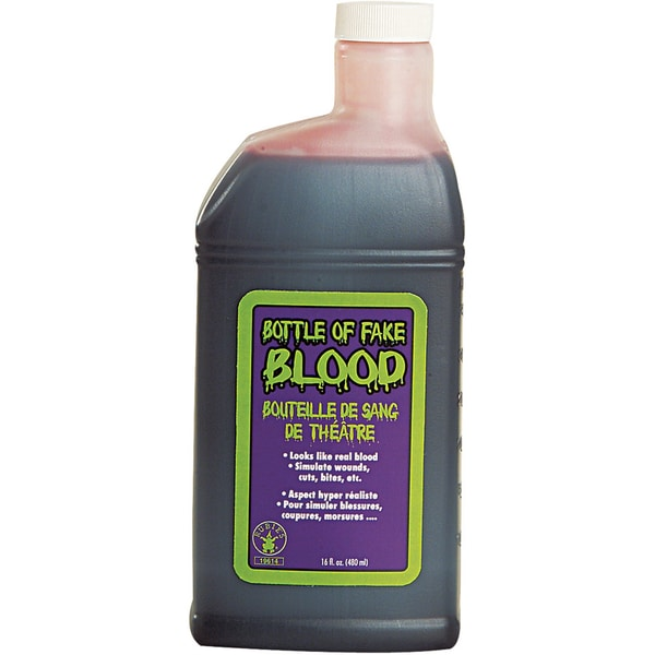 Washable 16-ounce Fake Blood