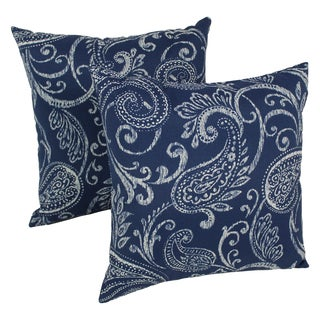 Blazing Needles Isolde 17-inch Spun Polyester Outdoor Throw Pillows (Set of 2)