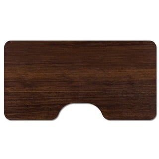 53 x 30 Wood Table Top and Desk Top with Ergonomic Cut