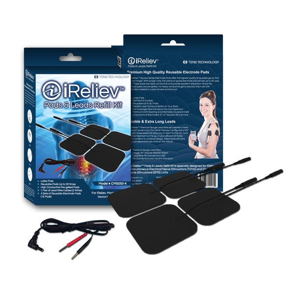 iReliev Pads & Leads Refill Kit (Pack of 16)