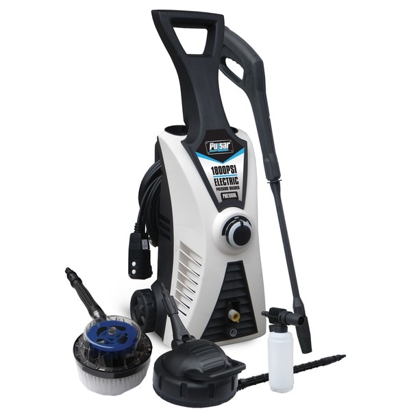 Pulsar 1800PSI Electric Pressure Washer with Kit