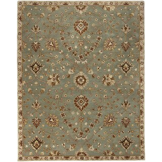 Hand-Tufted Reeves Transitional Wool Rug (9' x 12')