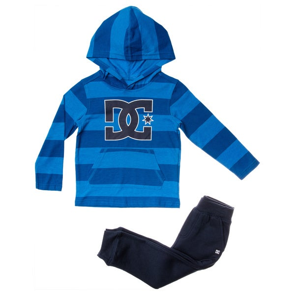 DC Toddler Boys' 2-piece Jersey Top/Fleece Jogger