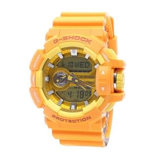 Casio Men's GA400A-9A G-Shock Yellow Watch