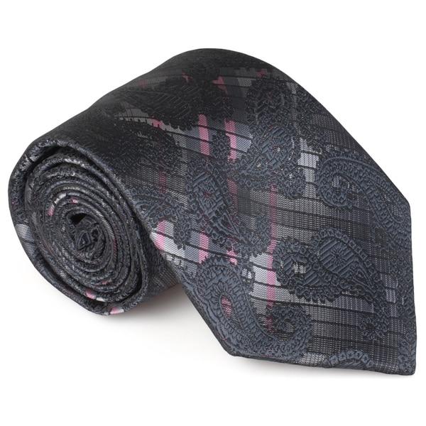 Vance co. mens handmade microfiber tie and hanky set 38c0ca55 174b 4710 80eb 281fe5b4f20a 600