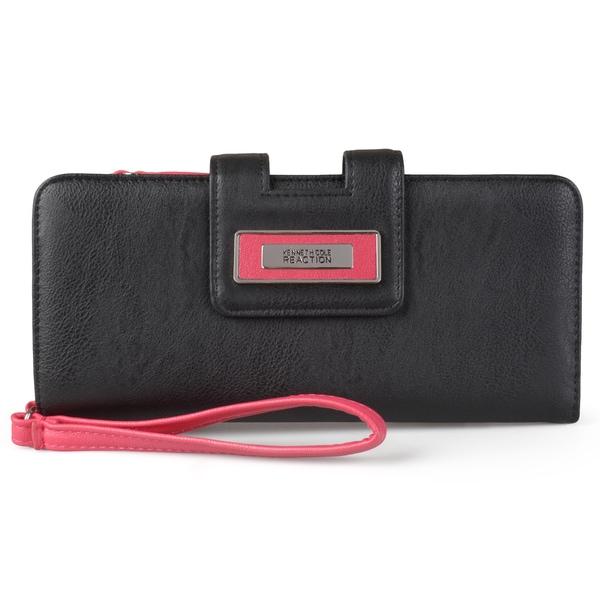 Kenneth Cole Reaction Women's Tab Clutch Wristlet Wallet