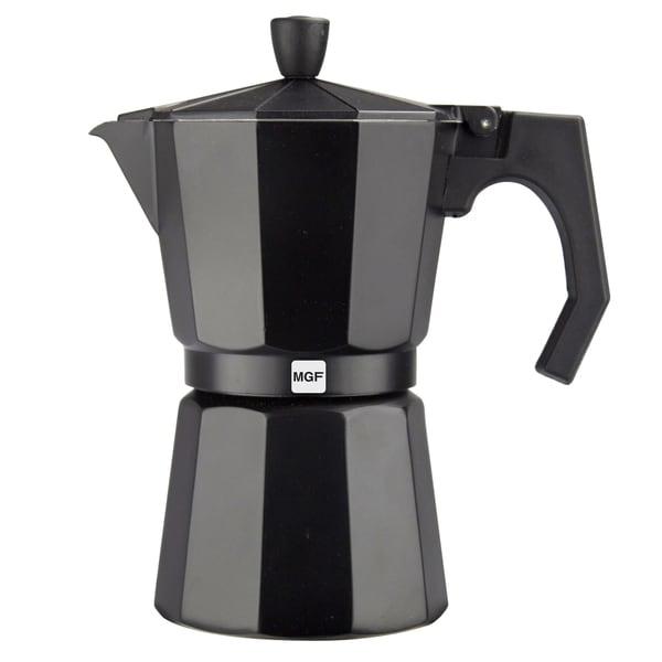 Magefesa Kenia Aluminum Black Espresso Maker (3 sizes available) 16041671
