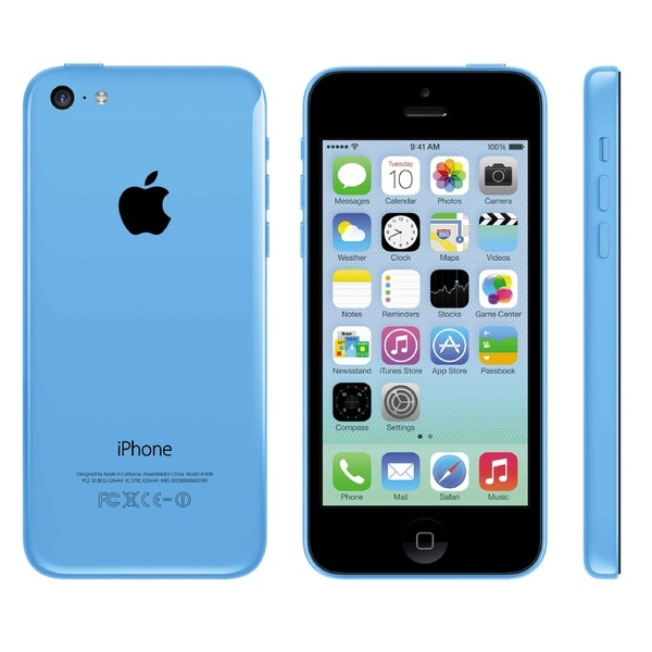 Apple iPhone 5C 8GB Factory Unlocked 4G LTE GSM Cell Phone - Blue (Refurbished)
