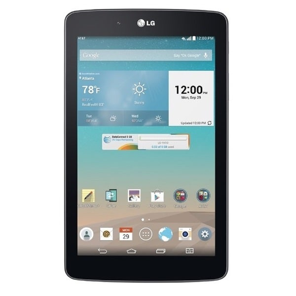 LG G Pad 7.0 V410 16GB AT&T Unlocked GSM 4G LTE Quad-Core Tablet PC - Black