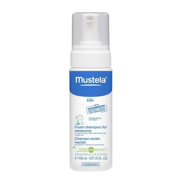 Mustela 5.1-ounce Foam Shampoo for Newborns