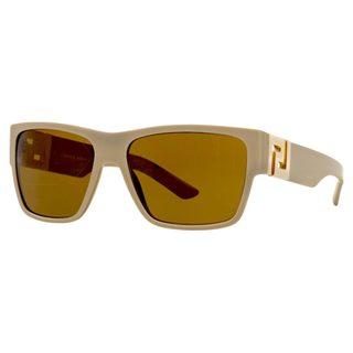 Versace Men's VE4296 Plastic Square Sunglasses