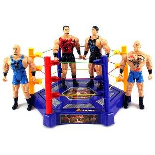 VS Wrestle King Champions Wrestling Toy Figure Play Set