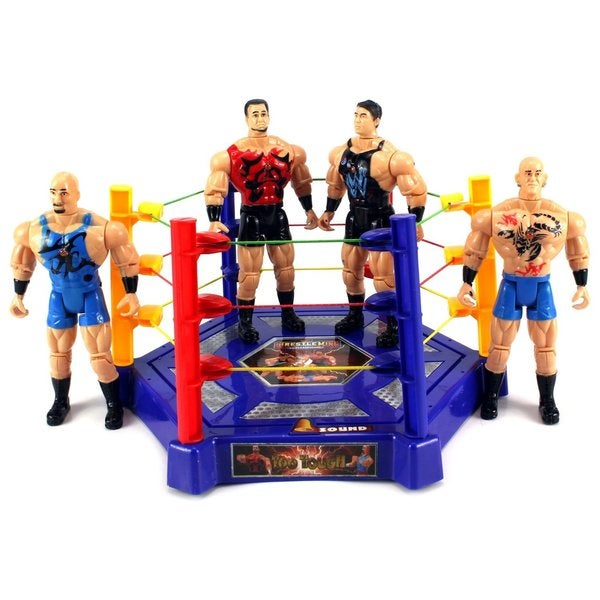 VS Wrestle King Champions Wrestling Toy Figure Play Set