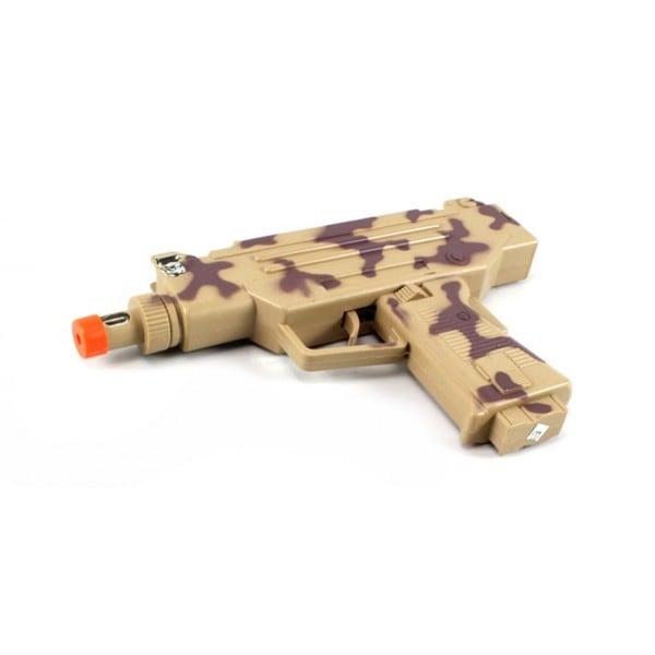 Camo Combat Uzi Smg Electric Toy Gun