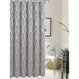 Gramercy Park Solid Pattern Polyester Shower Curtain
