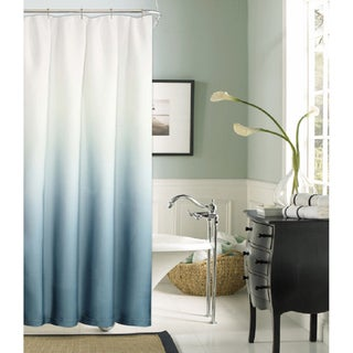 Shades Solid Pattern Polyester Shower Curtain
