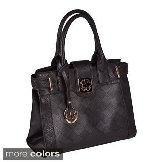 Michael Michelle 'Elizabeth' Vegan Leather Tote Bag