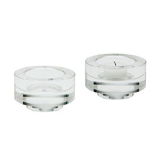 Dimond Home Fluted Crystal Votive (Set of 2)