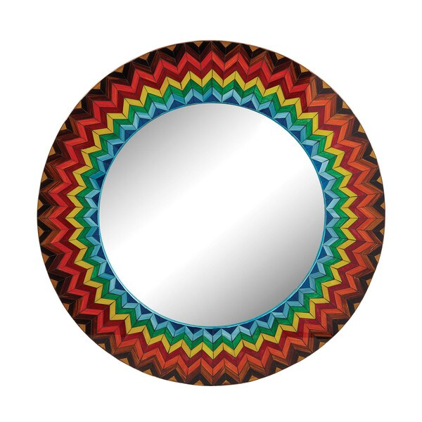 Dimond Home Vibrant Multi Starburst Mirror 16042356