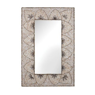 Dimond Home Flower Arc Shell Mirror