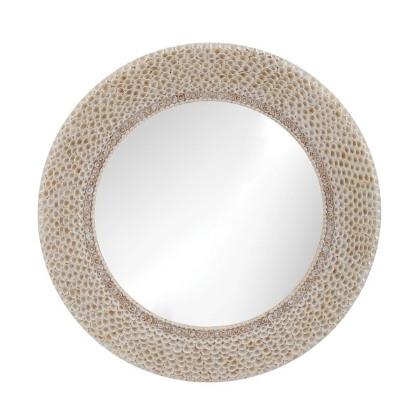 Dimond Home Ribbed Ring Shell Mirror 16042364