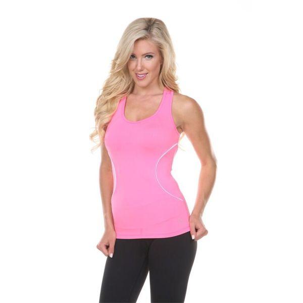 Women's Pink Active Wear Top