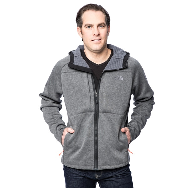The North Face TNF Black Heather Men's Arroyo Full Zip Hoodie