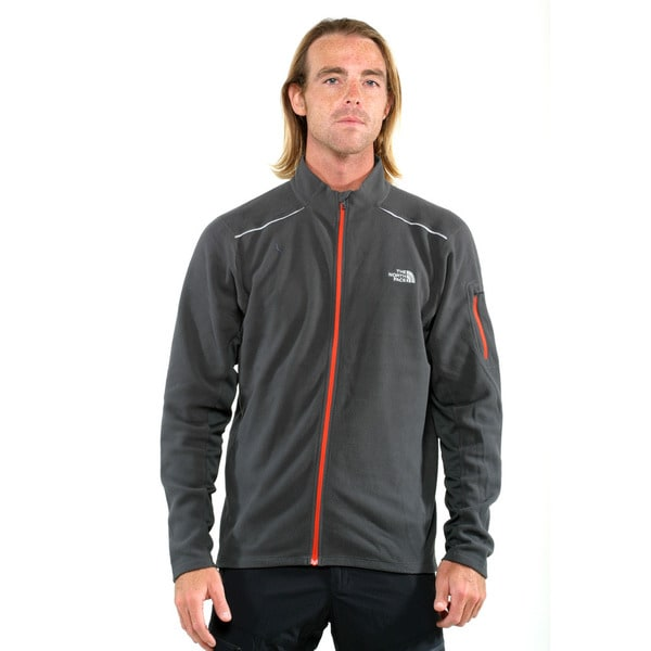 The North Face Asphalt Grey Men's TKA 80 Full Zip