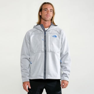 The North Face Highrise Graphite Heather Men's Arroyo Full Zip Hoodie