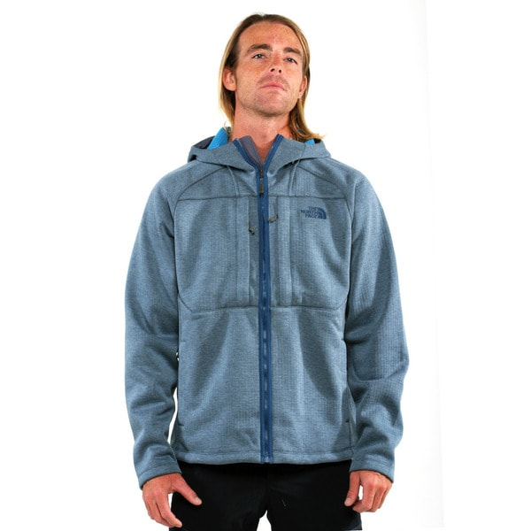The North Face Monterey Blue Heather Men's Arroyo Full Zip Hoodie