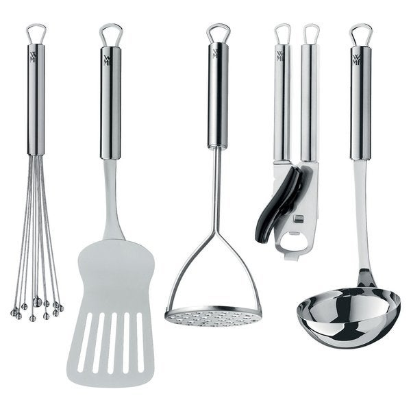 WMF Profi Plus 5-Piece 'Let's Get Started' Tool Set, Silver