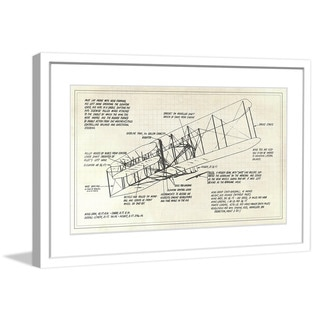 "Marmont Hill - ""Flight 1"" Licensed Smithsonian Framed Art Print"