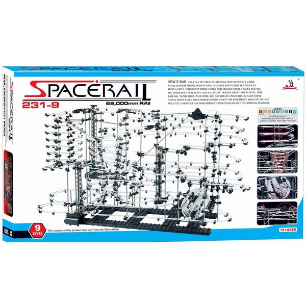 Spacerail Level 9 Roller Coaster Space Rail 70,000mm Rail Spacewarp 16042871