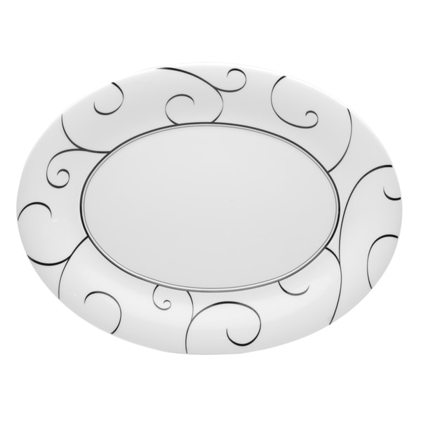 Panache Porcelain Oval Platter