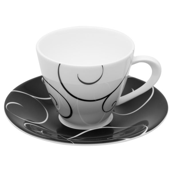 Panache Tea Cup /Saucer (Set of 6)