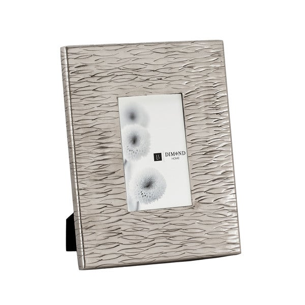 Dimond Home Small Aluminum Textured Photo Frames