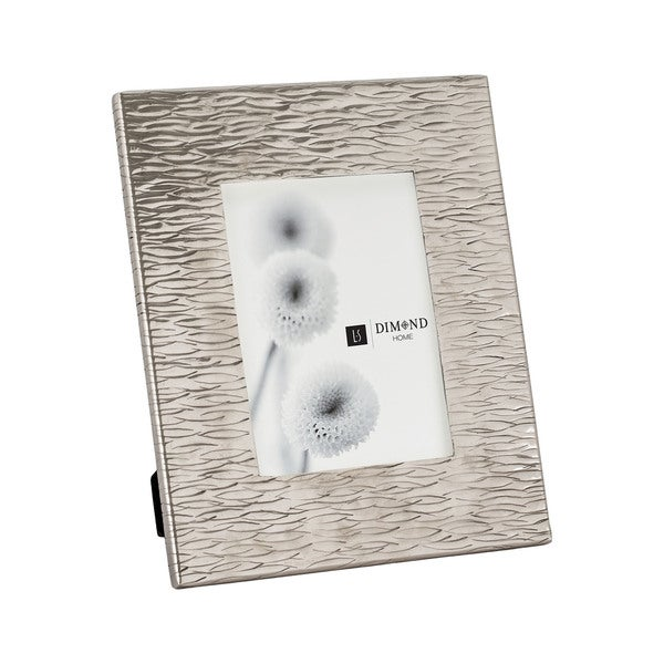 Dimond Home Large Aluminum Textured Photo Frames