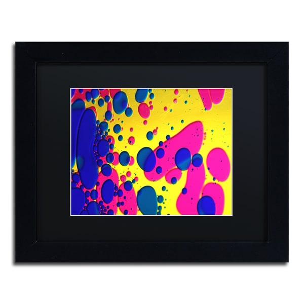 Beata Czyzowska Young 'Colour Fun V' Black Matte, Black Framed Wall Art