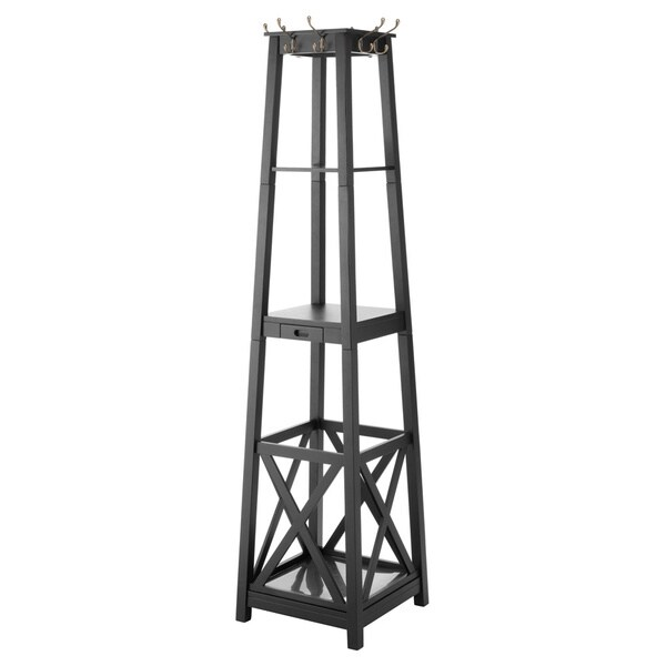 Whitmor 6671-5289-BB Entryway Tower Coat Rack