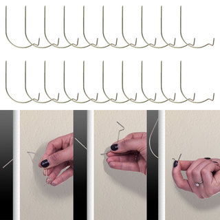 Hang-It-Up Super Hooks, Pack of 20 by Trademark Home