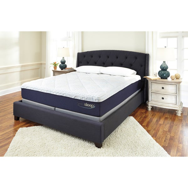 Sierra Sleep by Ashley 13-inch King-size Gel Memory Foam Mattress