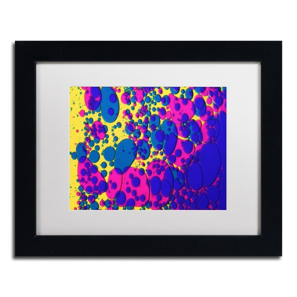 Beata Czyzowska Young 'Colour Fun VI' White Matte, Black Framed Wall Art