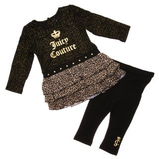 Juicy Infant Girl's 2-piece Tunic and Legging Set