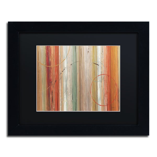 Lisa Audit 'Spiced II' Black Matte, Black Framed Wall Art 16044400