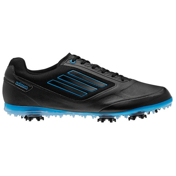 Adidas Women's Adizero Tour II Black/ Solar Blue Golf Shoes
