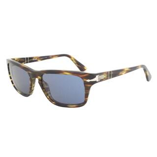 Persol PO3074S Plastic Rectangle Sunglasses