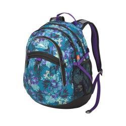 High Sierra Aloha/Black/Deep Purple Fat Boy Laptop / Tablet Backpack
