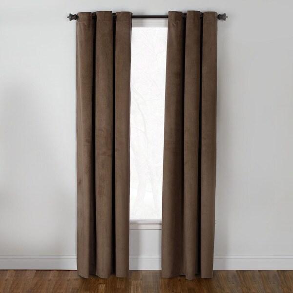 V-Topcord Velvet 84-inch Curtain Panel 16048017
