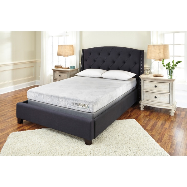 Sierra Sleep by Ashley 7-Inch Full-size Gel Memory Foam Mattress