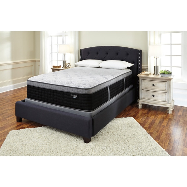 Sierra Sleep by Ashley Manhattan Design District Plush Euro Top King-size Mattress